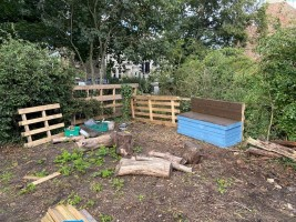 Allotment Seating Area