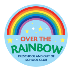 Over the Rainbow - Out of School club Logo